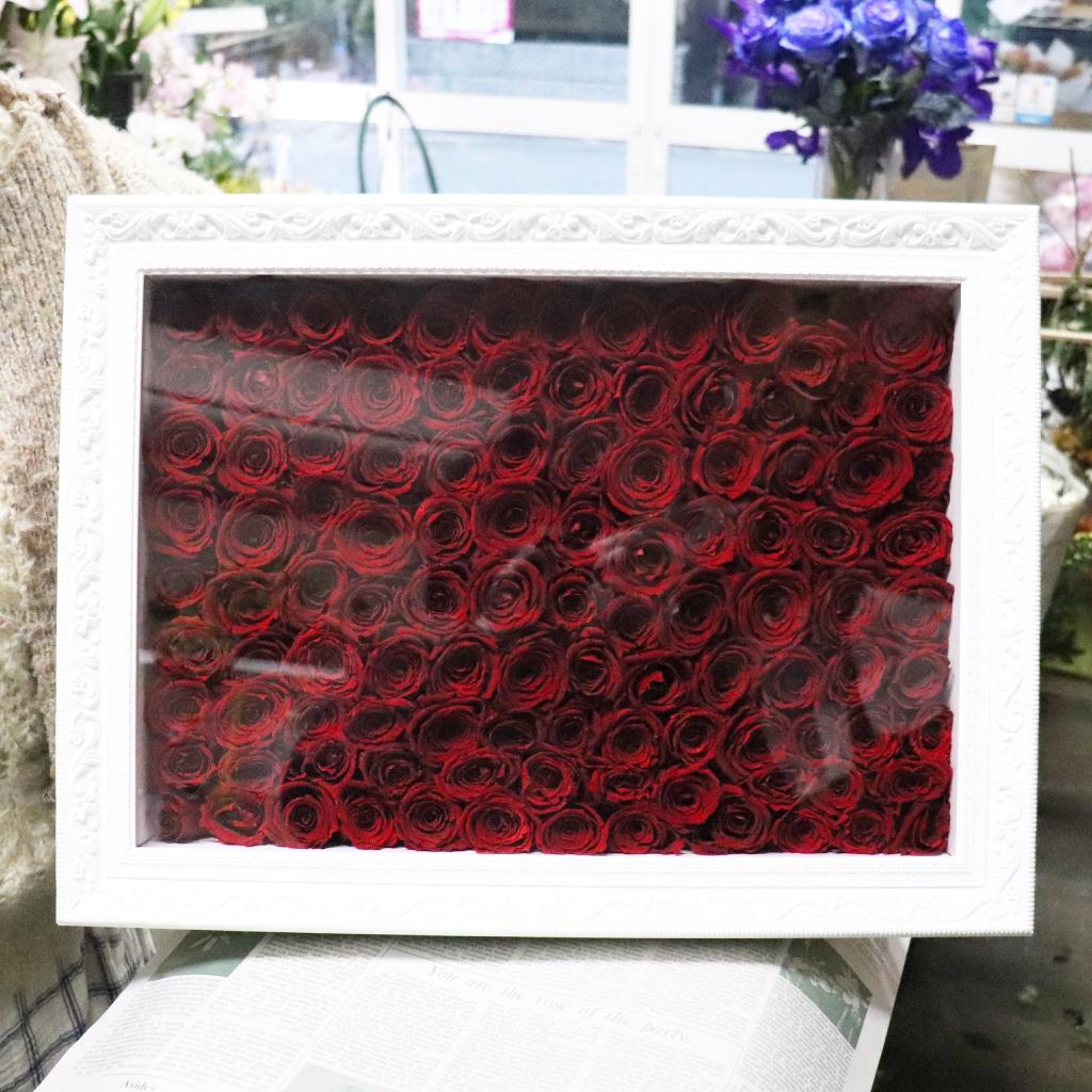 赤バラ108本